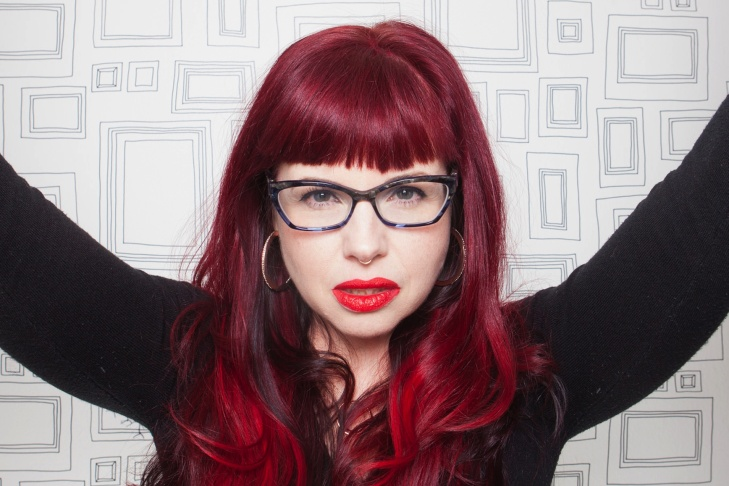 Comic writer Kelly Sue DeConnick