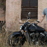 "Actor Mark Wahlberg is a 'brand ambassador"" for Indian motorcycles, and they are often featured in his films."