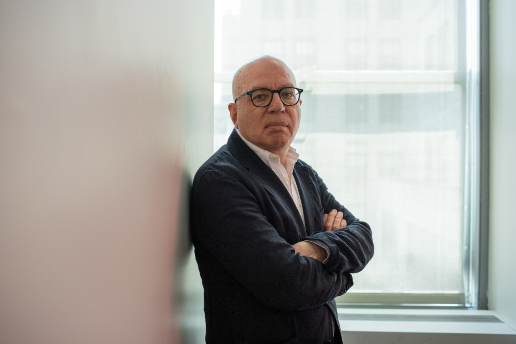 Author Michael Wolff at the NPR offices, June 2, 2019. Wolff's latest book claims special counsel Robert Mueller's office drew up an indictment of President Trump, a claim that's denied by the special counsel's office.