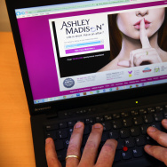 In this photo illustration, a man visits the Ashley Madison website on August 19, 2015 in London, England. Hackers who stole customer information from the cheating site AshleyMadison.com dumped 9.7 gigabytes of data to the dark web on Tuesday fulfilling a threat to release sensitive information including account details, log-ins and credit card details, if Avid Life Media, the owner of the website didn't take Ashley Madison.com offline permanently.