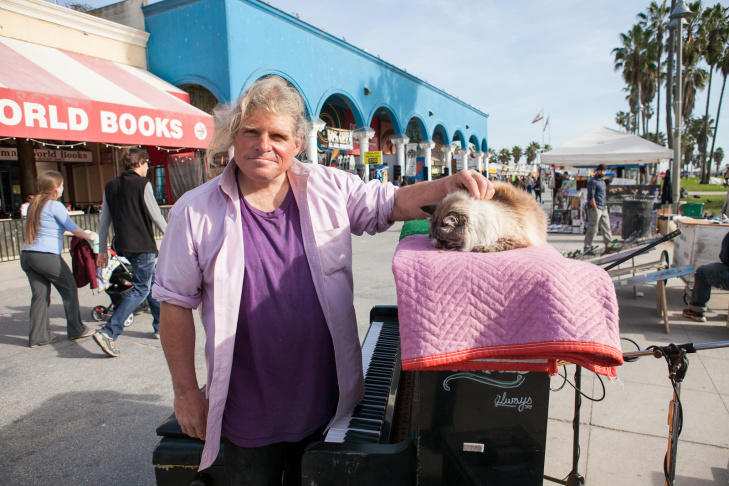 Venice Boardwalk Piano Player - 2