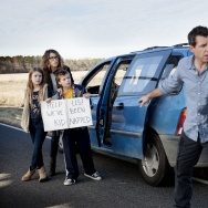 """Jason Jones stars in the new sitcom, """"The Detour,"""" which he co-created with his wife Samantha Bee."""