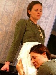 "A scene from ""My Sister in This House,"" in production at Deaf West Theatre in North Hollywood."
