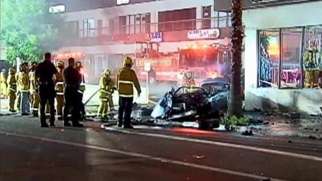 "A Studio City car crash on Aug. 9, 2012 killed three, including Jason Shmelnik, who had appeared on ""Dancing With The Stars."""