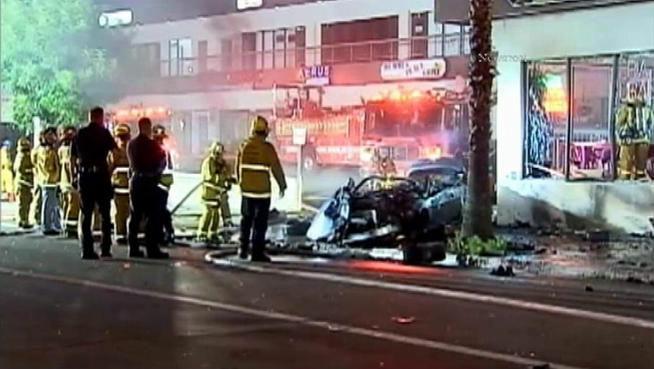 A Studio City car crash on Aug. 9, 2012 killed three, including Jason Shmelnik, who had appeared on