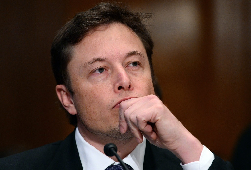 Elon Musk, Chief Executive Officer and of Tesla Motors.