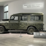 The car, a 1971 Series 3 Land Rover, was unveiled last month at the Petersen Automotive Museum, where staff says it will be on display until the end of the year, at least.