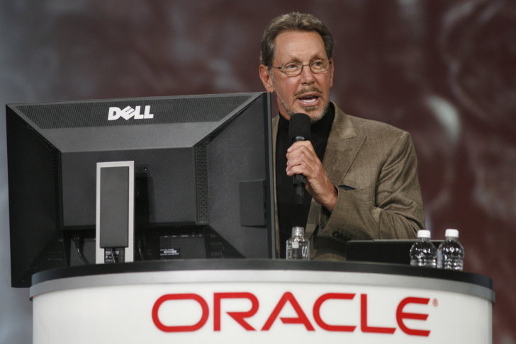 Oracle CEO Larry Ellison is ranked as the fifth-richest man in the world by Forbes, with a net-worth of $43 billion dollars.