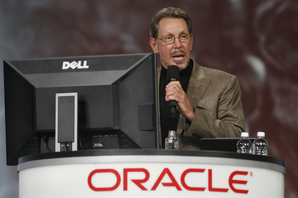 Oracle CEO Larry Ellison. The third-richest man in the U.S. might be a buyer for AEG.