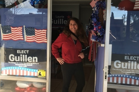 Laurie Guillen helped lead a community effort pushing for a crackdown on metal processing plants. She's now running for a seat on the Paramount city council.