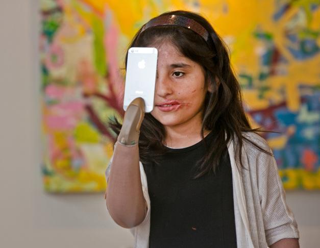 Afghan Girl -Prosthetic Artistry