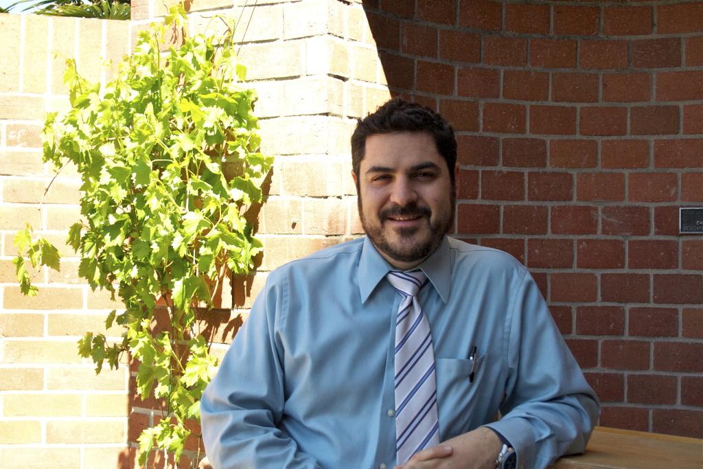 Rabbi Noah Farkas, at Valley Beth Shalom.