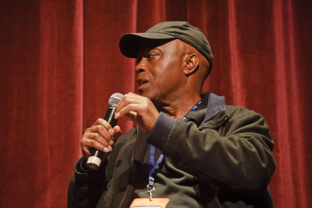 Director Charles Burnett attends Day 2 of Ebertfest 2017 on April 20, 2017 in Champaign, Illinois.
