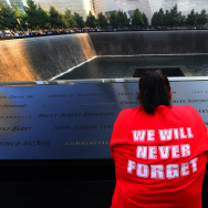 New York Commemorates The 12th Anniversary Of The September 11 Terror Attacks