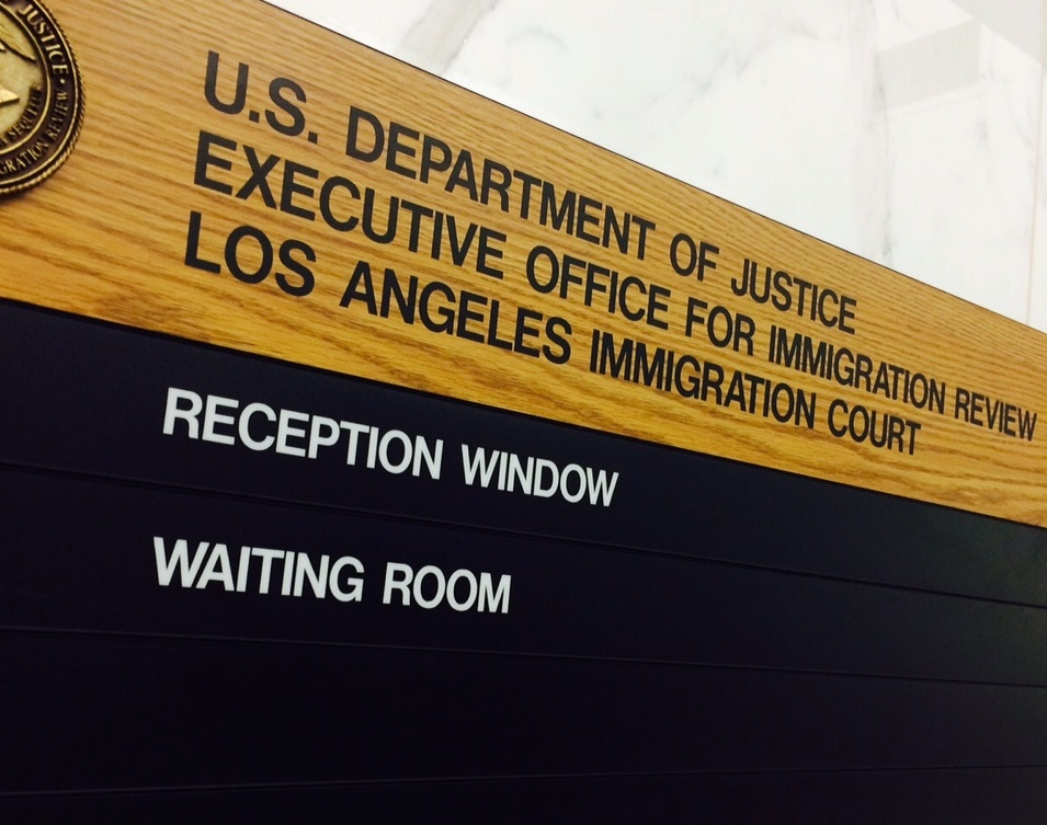The Los Angeles immigration courts are the busiest in the nation, receiving 18,236 cases in 2014.
