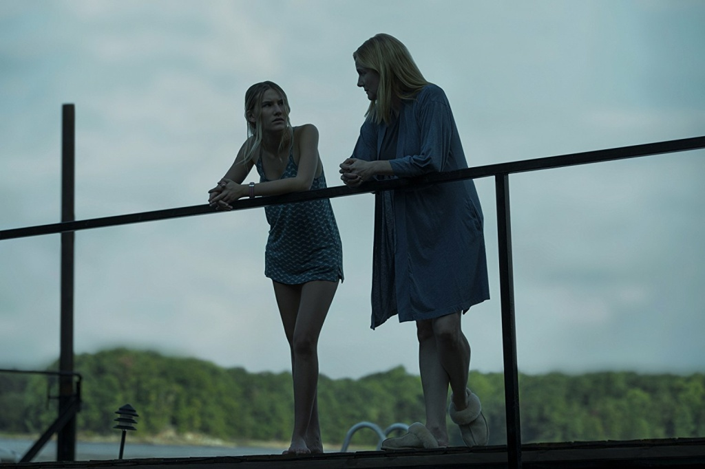 Laura Linney (right) and Sofia Hublitz in season 2 of Netflix's