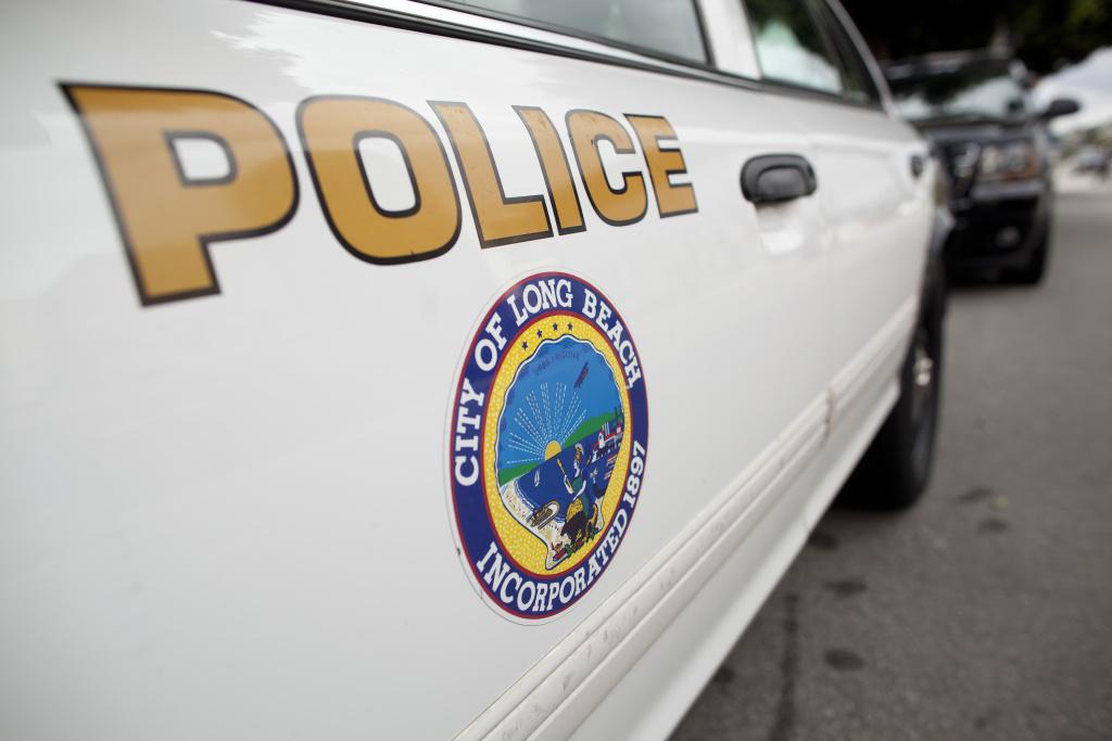 A Long Beach police car.