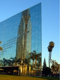 The Crystal Cathedral in Orange County, California.