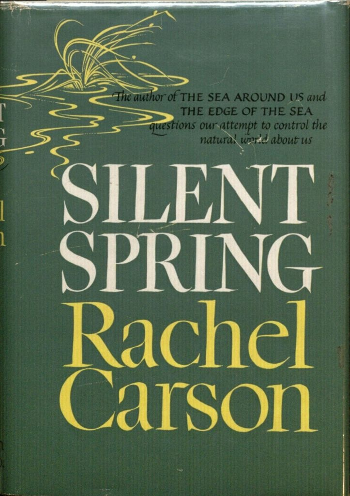 Cover for Rachel Carson's 1962 book