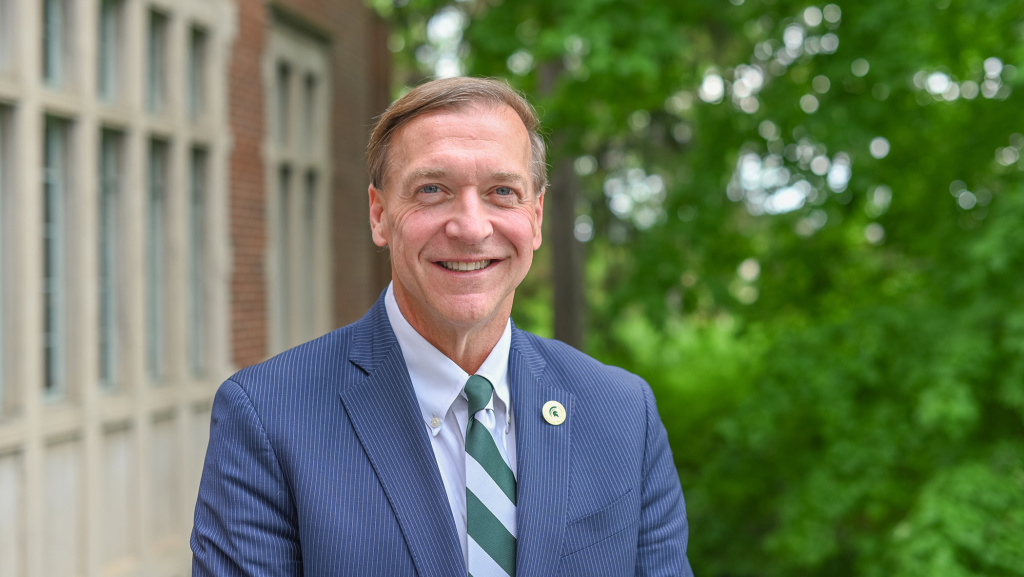 Michigan State University has named Samuel Stanley Jr. as its 21st president.