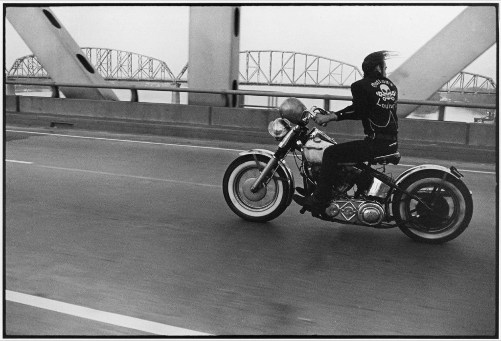 Crossing the Ohio, from The Bikeriders, 1965.
