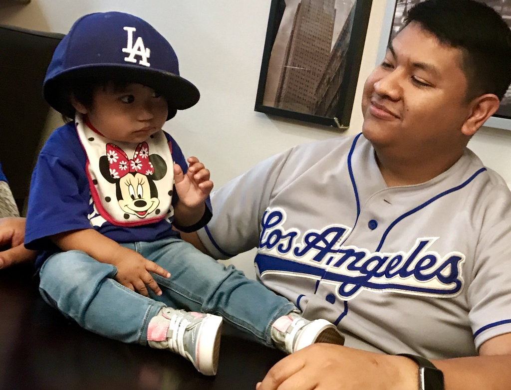 The next generation of Dodger fandom