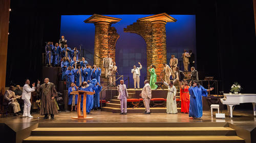 The case of the musical 'The Gospel at Colonus,' at Los Angeles's Ebony Repertory Theater
