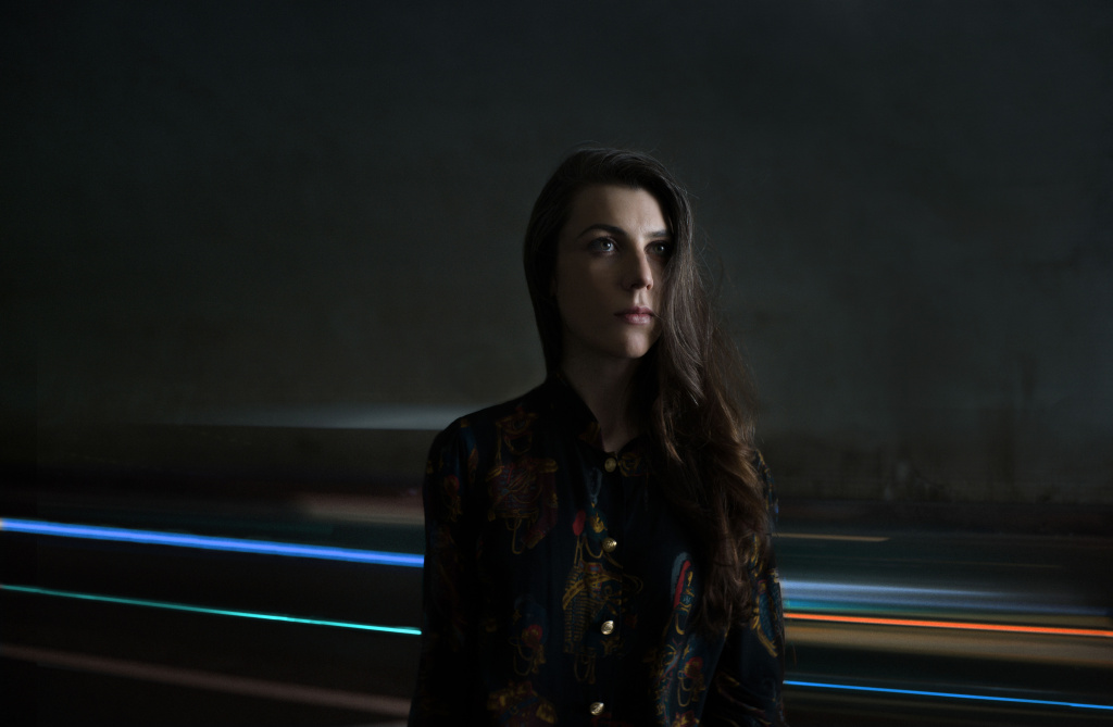 Julia Holter performs at FYF Fest on Aug. 28 in Los Angeles.