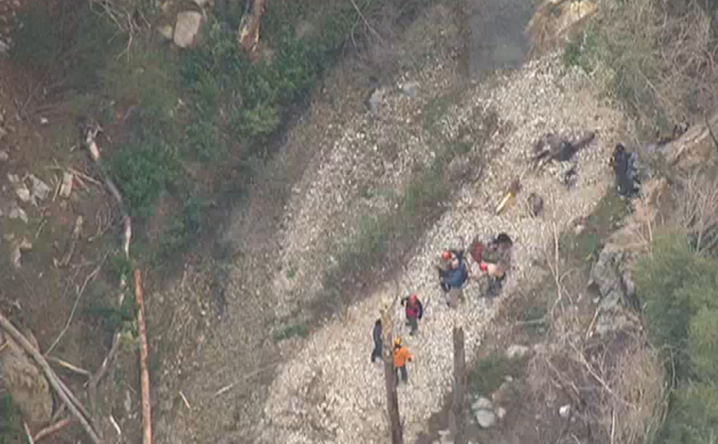 Four hikers who went missing overnight in Angeles National Forest were found early Tuesday, December 30, 2014.