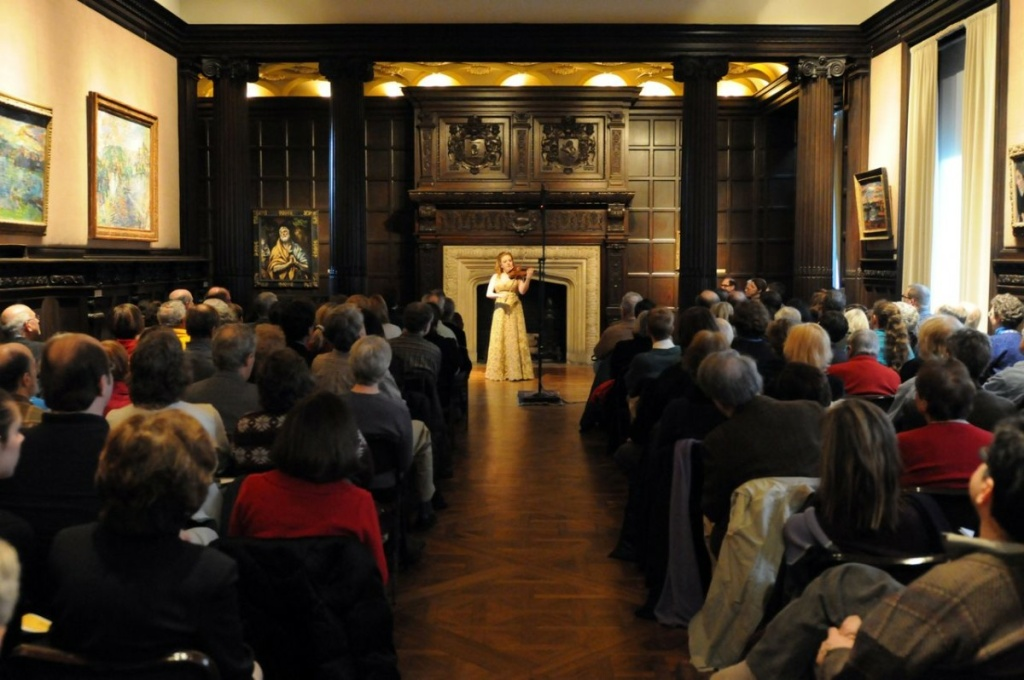 Rachel Barton Pine performs a solo violin concert.