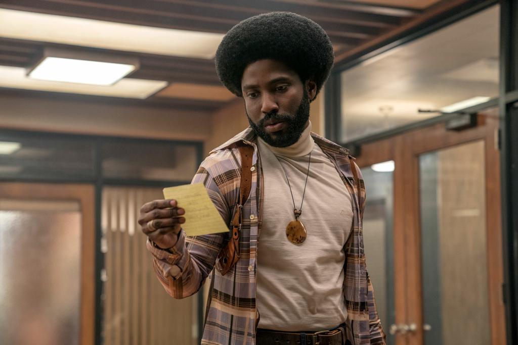 John David Washington plays Ron Stallworth in 'BlacKkKlansman.'