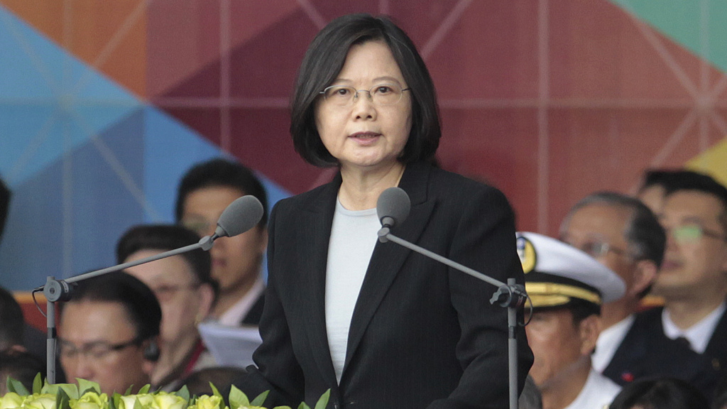 President-elect Donald Trump has spoken with Taiwan's President Tsai Ing-wen, pictured earlier this year, a conversation that may irritate the Chinese government.
