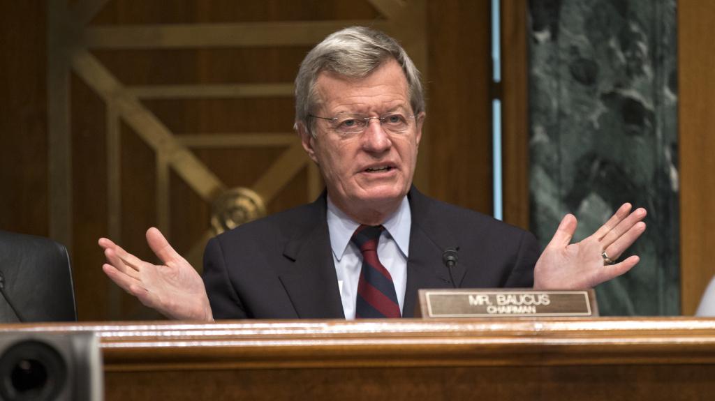 Senate Finance Committee Chairman Max Baucus, a Montana Democrat, will not seek a seventh term in 2014.