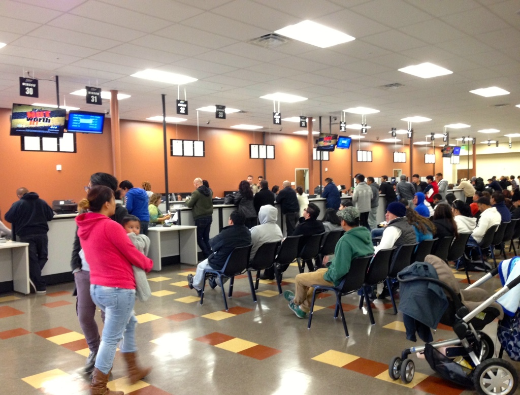 The Granada Hills location is one of four new processing centers opened by the DMV to serve first-time applicants.