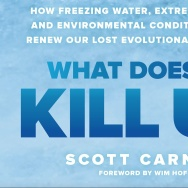 Cover art for the new book, What Doesn't Kill Us.