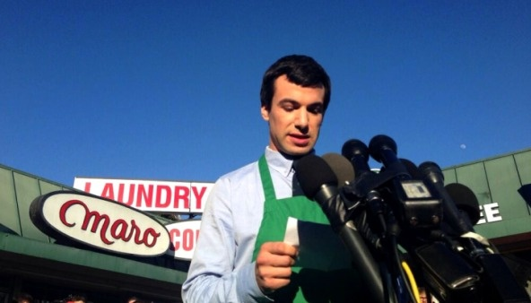 "Nathan Fielder, host of Comedy Central's ""Nathan for You"" show, announced in February the show was behind the mysterious appearance of a ""Dumb Starbucks"" outlet in Los Feliz."