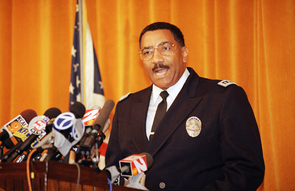 Ex-LAPD chief Willie Williams has died   89.3 KPCC