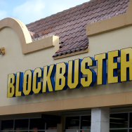 A Blockbuster video store is seen on Nov. 6, 2013 in Miami, Florida. Blockbuster announced Wednesday that it will close its 300 remaining U.S. stores by early January.