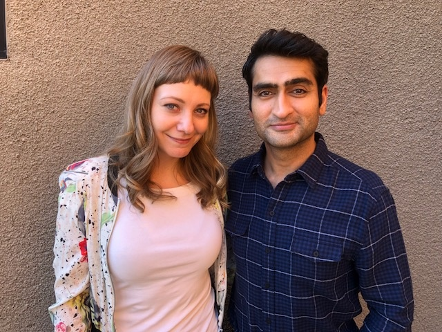 Emily V. Gordon and Kumail Nanjiani, Oscar-nominated screenwriters of