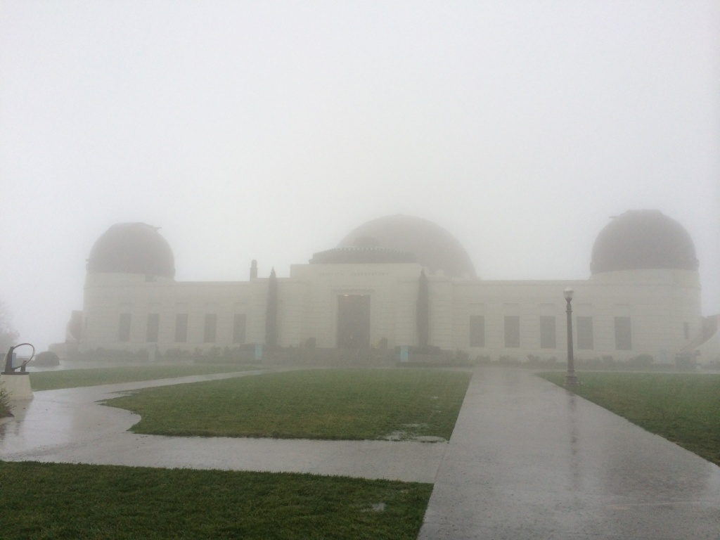 The Griffith Park Observatory on 2/28/14