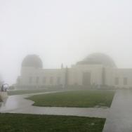 Griffith Park Observatory rain