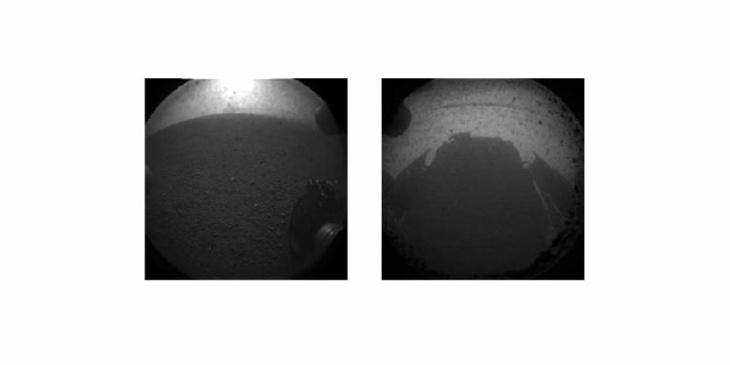 Mars Rover Shots