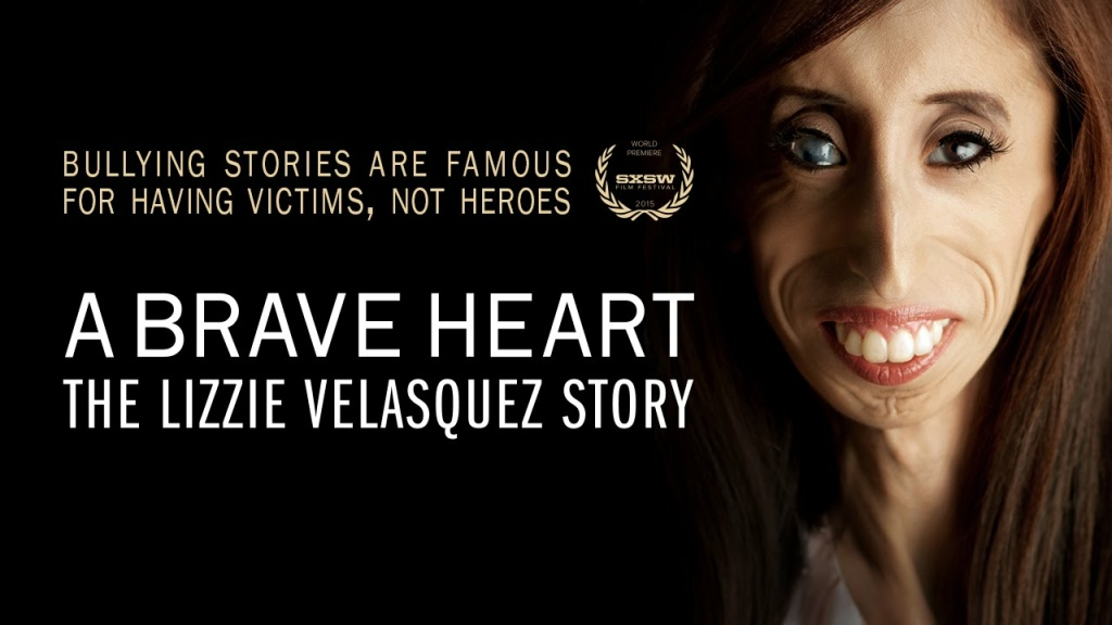 Story art for the new film, A Brave Heart: the Lizzie Velasquez Story.