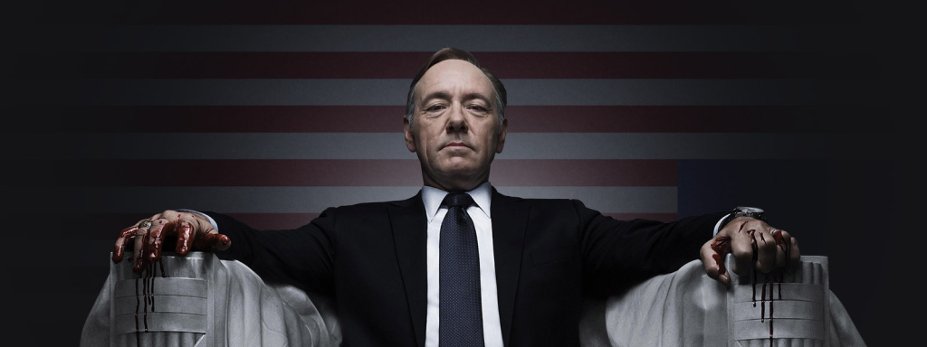House of Cards, starring Kevin Spacey, is up for 9 nominations Sunday, including Best Drama.