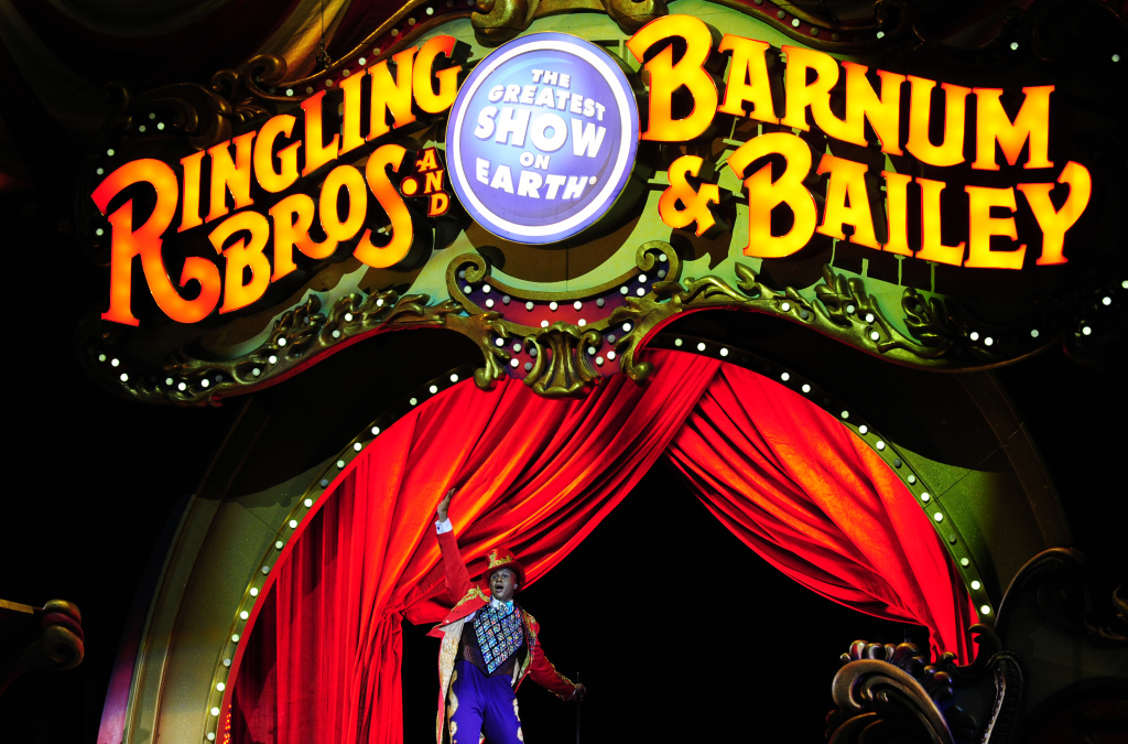 The Ringling Brothers circus is booked at Staples Center until 2016. Its last show attracted 90,000 people in July.