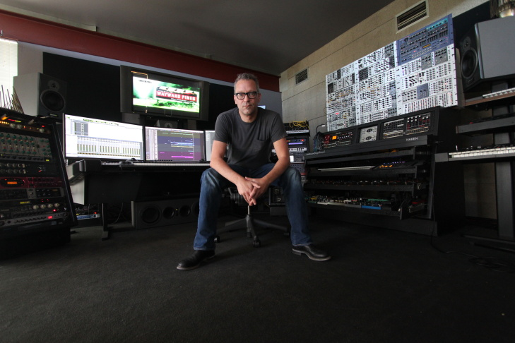 Composer Charlie Clouser, who has scored the