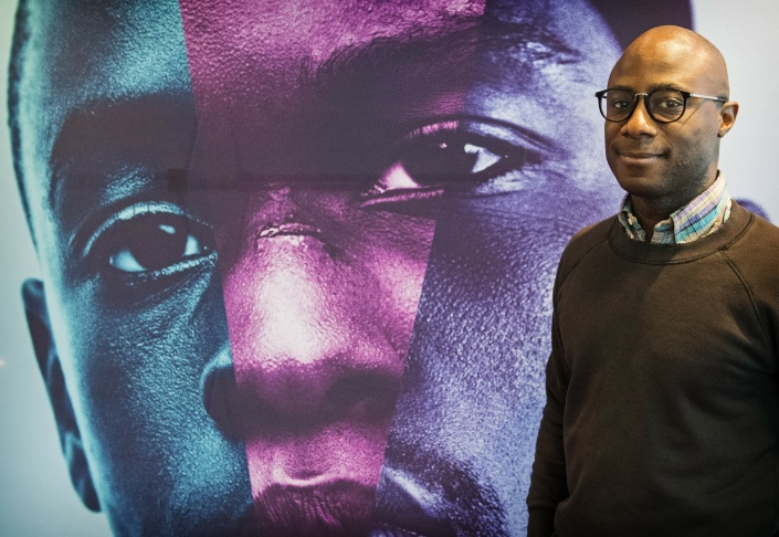 Director Barry Jenkins poses during the press day for