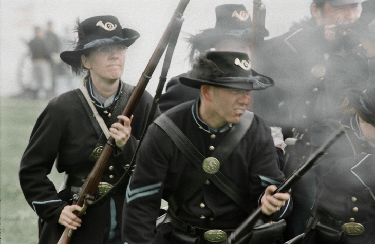 "Mark Elson/""Battlefields of Honor: American Civil War Reenactors"""