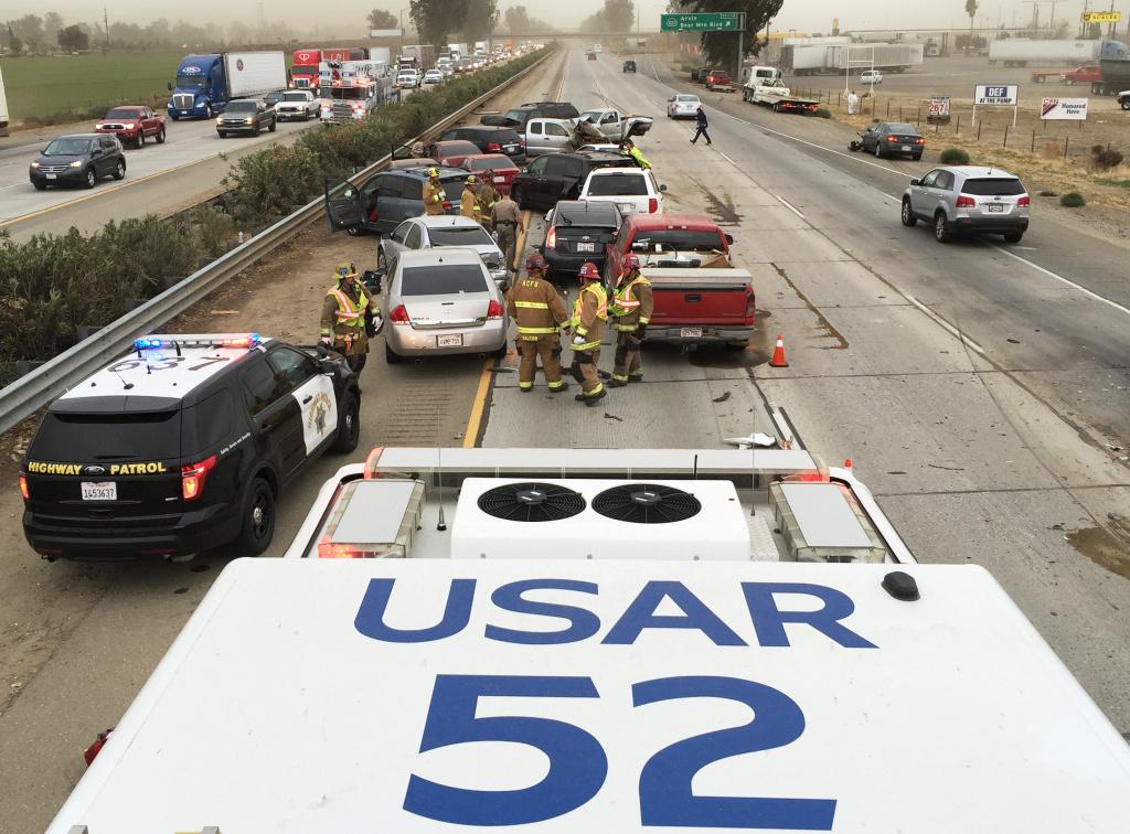 Showers Expected In Orange County San Bernardino County