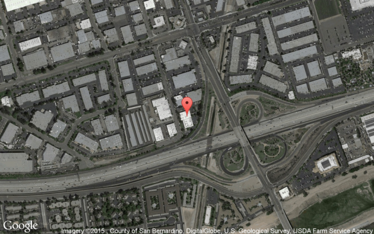 1000 N Kraemer Pl, Anaheim, CA, the site of a proposed homeless shelter.